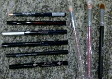 New Huge 9 item Lot of Ipsy Deluxe Eyeliners and Brushes Mally, Lottie & more