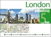 London PopOut Map by PopOut Maps 9781910218723 | Brand New | Free UK Shipping