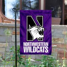 Northwestern Garden Flag Yard Banner