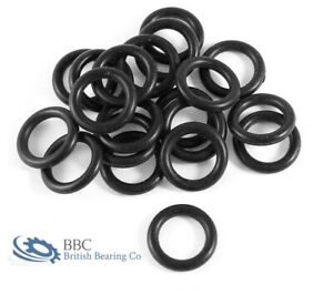 Imperial Nitrile Rubber O Rings 1.78mm Cross Section BS001-BS031 - PACK OF 25