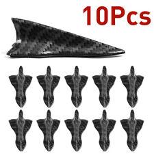 10Pcs Shark Fin Diffuser Vortex Generator Universal Car Roof Spoiler Bumper B