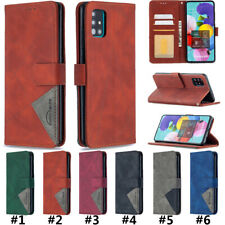 Wallet Flip Leather Phone Case Cover For Samsung Galaxy A21S A10 A20 A40 A81 A91