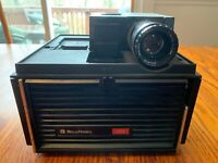 Vintage Bell & Howell Slide Movie Film projector Model 454 Cube Auto Focus