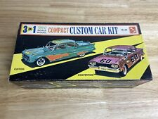 RARE VINTAGE AMT SMP 1960 CHEVY CORVAIR  PLASTIC MODEL CAR WITH BOX