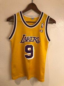 Nick Van Exel Los Angeles Lakers vintage Champion Youth Jersey