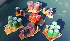 6UU19 ASSORTED CAPACITORS, ON CIRCUIT BOARDS, GOOD CONDITION