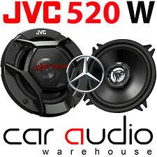 Mercedes C Class 2000-2007 JVC 13cm 520 Watts Rear Door Car Speakers & Brackets