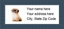 "Pekingese Return Address Labels  - Personalized ""BUY 3 GET ONE FREE"""