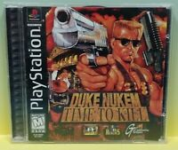 Duke Nukem TIme to Kill - Playstation 1 2 PS1 PS2 Game Working 1 Owner Complete