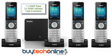 W60P Yealink Wireless VoIP DECT Telephone + Base System 1x60P + 3xW56H