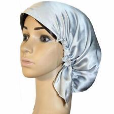 100% pure mulberry silk bonnet  sleep cap  night cap for hair care