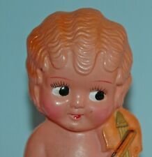 vintage 7 inch tall pre War JAPAN CELLULOID Flapper Doll playing Violin