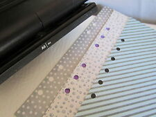 6 Hole Punch RaPesco ~ Filofax, LV Agenda,A5, A6. Adjustable for most organisers