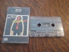 cassette audio AC/DC powerage
