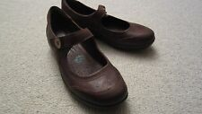 NEW- Montana Cove Mary Jane Shoes Brown Leather Size 8M