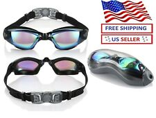 Multi-Choice Clear Comfortable Swimming Goggles with Uv- Anti-Fog Swim Glasses