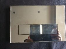 GROHE CHROME DUAL FLUSH WC WALL PLATE USED