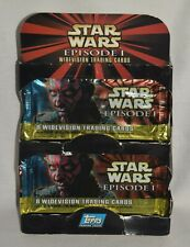 Topps STAR WARS Episode 1 Widevision Trading Cards of Box 36 ct.