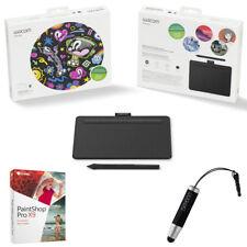 Wacom Intuos Creative Pen Small Black Bluetooth Tablet + Corel Paint Shop Bundle