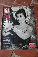 Ciné REVUE N°22 JUIN 1955 GINA LOLLOBRIGIDA / LA VIE A HOLLYWOOD