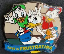"Disney Donald Huey Dewey Louie ""Love is an Adventure "" Event Mystery Pin"