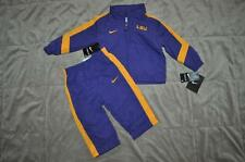 LSU Tigers Nike Toddlers 2 Piece Sweatsuit Pants & Jacket Set 12 Months NWT