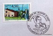 MAISON JEANNE D ARC  FRANCE  Yt 3002 OBLITERATION 1er JOUR NOTICE PHILATELIQUE