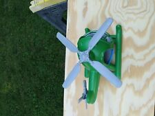 Green Toys, Made in USA, Helicopter, Green and Blue