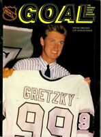 1989 3/1 Hockey Program, Wayne Gretzky, Los Angeles Kings @ Buffalo Sabres~ Good