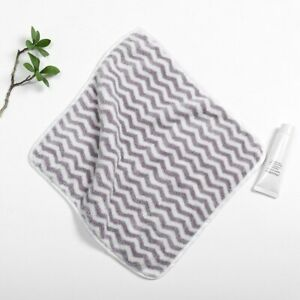 Soft Hand Towel Stripe Face Towel Microfiber Baby Hanging Bath Towel Quick Dry
