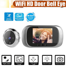 "2.8"" Spioncino Elettronico WIFI Wireless HD Telecamera Video Campanello T9V1"