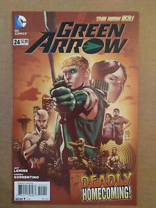 GREEN ARROW #24 (2013) 1st APPEARANCE of JOHN DIGGLE CBG 1562