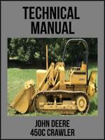 John Deere 450C Crawler Technical Manual TM1102 On USB Drive