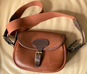 Quality Leather Cartridge Bag by E Jeffries