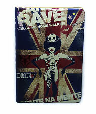 for iPad Mini 1 2 3 Rave British Flag Girl Design Smart Stand Case Cover