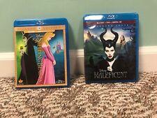 Sleeping Beauty [Diamond Edition] and Maleficent on Blu-ray/DVD