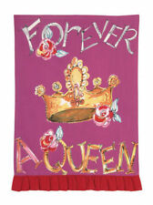 Julia Junkin Design for PHI Cotton Kitchen Tea Towel Forever a Queen - NEW
