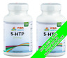 DOUBLE STRENGH 5-HTP 200MG 120 CAPSULES DEPRESSION INSOMNIA ANXIETY BOGOF