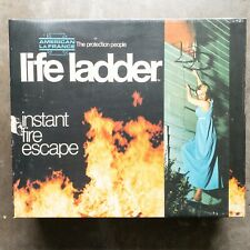 American LaFrance Life Ladder Instant Fire Escape 25 Feet Long