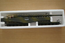 LIMA COLLECTION 303500 RAILWAY GUN LEOPOLD K5 SCALE HO VINTAGE NEW BOXED