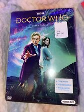 Doctor Who Tv Series Peter Capaldi Free collective figure Sealed 9-Disc Dvd Set