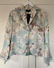 Mandy Marsh Floral Jacket Spring Summer Wedding  10 BNWT New