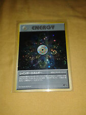 Pokemon Rainbow Energy Japanese Team Rocket Gang Set Holo Holographic Card