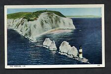 C1960's View of the Needles & Lighthouse, Isle of Wight.