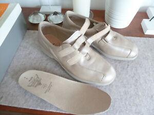 Solidus Klett Comfort Schuhe 8 42 K NEU Soft Diabetiker Rheumatiker Halbschuhe