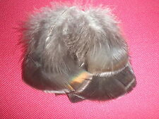 lot 10 plumes dinde d amerique 6 cm