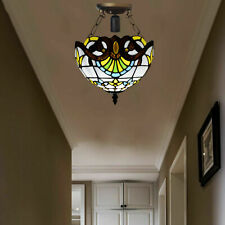 LATEST TIFFANY Style Ceiling Lamp Light shades Hand Crafted Stained Glass