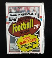 Topps Vintage 1989 NFL Official Football Cards - Sealed Unopened 29-Cards Pack