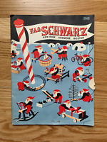 F.A.O. Schwarz Toy CATALOG - Christmas, 1948 ~~ FAO Schwarz toys