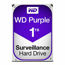 "1TB WD Purple Surveillance 3.5"" Sata III 6Gbps 64MB Cache Internal Hard Drive"